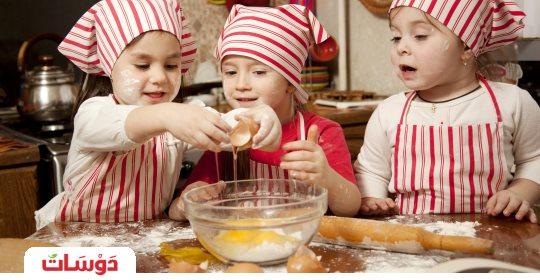 البيض صحة ومرح ولياقة لأطفالنا