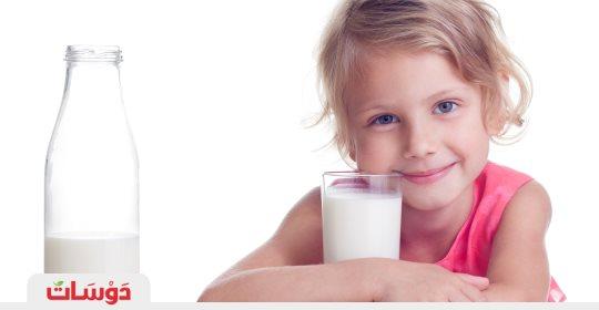 أيهما أفضل للأطفال الحليب قليل الدسم أم كامل الدسم ؟