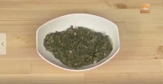 طريقة تحضير متبل السبانخ من مطبخ دوسات