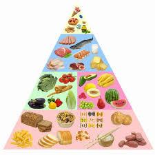 الهرم الغذائيّ الطريقة التوضيحية لإحتياجات الإنسان الغذائيّة ولأولويات عناصر النظام الغذائيّ الصحيّ بصورة مُيسرة لكل الفئات.