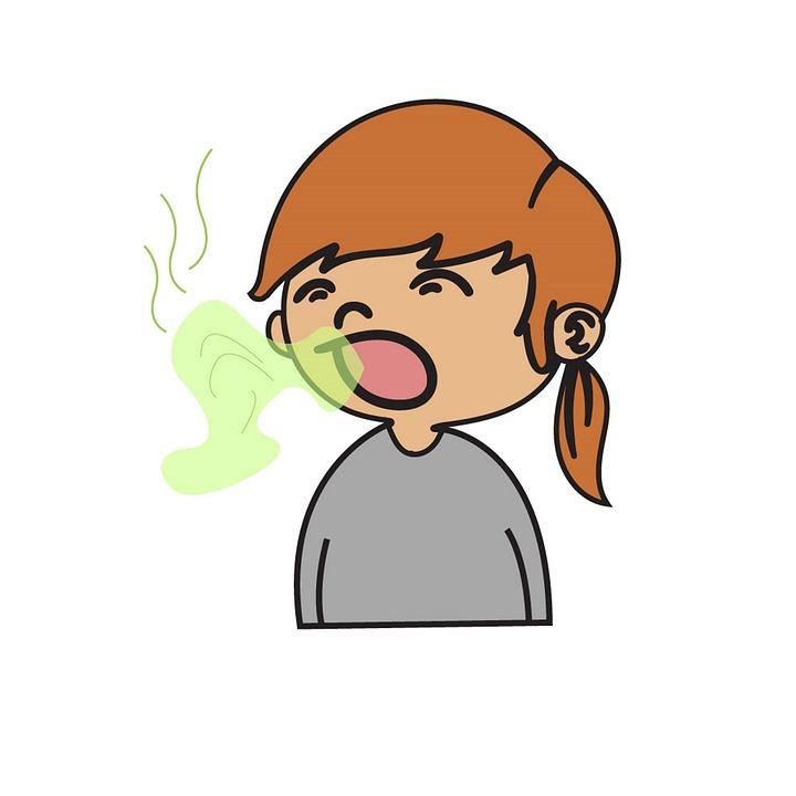 تعاني من رائحة الفم