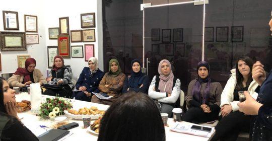 أدارت السيدة ماس وتد  اجتماعا مميزا مع طاقم دوسات وبحضور  خبراء عالميين